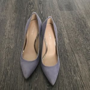Coach lilac high heels